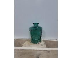 Ваза Бутылка (стекло) D5*H9,5см зеленый 5500012075084
