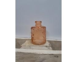 Ваза Бутылка (стекло) D6*H8см красный 5500012075102