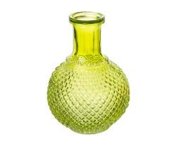 Ваза Бутылка (стекло) 15*11см зеленый