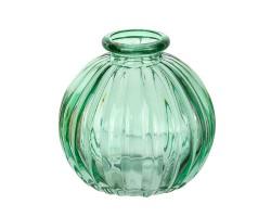 Ваза Бутылочка Джайв D8,5*H8,5см зеленый арт.39904