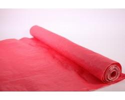 Бумага жатая влагостойкая однотонная 70-75см*5м красный