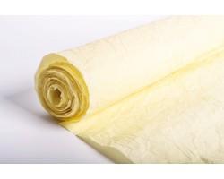 Бумага жатая влагостойкая однотонная 70-75см*5м кремовый