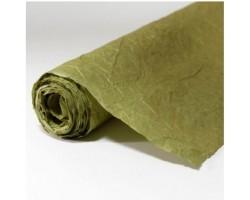 Бумага жатая влагостойкая однотонная 70-75см*5м оливковый