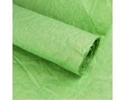 Бумага жатая влагостойкая однотонная 70-75см*5м лайм