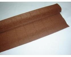 Бумага гофрированная простая 180гр 568 коричневая
