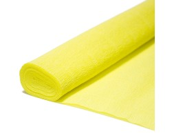 Бумага гофрированная простая 180гр 574 желтая