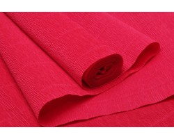 Бумага гофрированная простая 180гр 589 ярко-красный