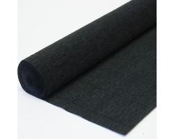 Бумага гофрированная простая 180гр 602 черная