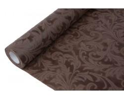 Фетр Флора ламинированный 3D 50см*5м шоколадный