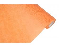 Фетр с тиснением Эдем-Розы  50см*5м оранжевый