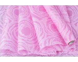Фетр Круговорот ламинированный 3D 60см*10м розовый