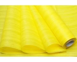 Фетр Полосы ламинированный 3D текстура 50см*10м желтый
