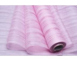 Фетр Полосы ламинированный 3D текстура 50см*10м светло-розовый