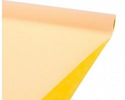 Упак.материал Veltico двухцветный 47см*5м желтый+персиковый