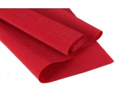 Бумага гофрированная простая 180гр 17A/6 красный