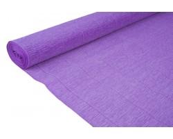Бумага гофрированная простая 180гр 17E/2 ярко-фиолетовая