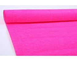 Бумага гофрированная простая 180гр 551 ярко-розовая