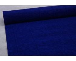 Бумага гофрированная простая 180гр 555 темно-синяя