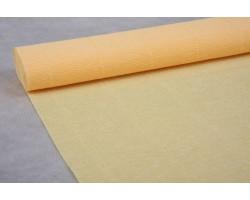 Бумага гофрированная простая 180гр 577 лимонно-кремовая