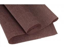 Бумага гофрированная простая 180гр 614 коричнево-серый