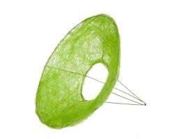 Каркас для букета (сизаль) гладкий 25см зеленое яблоко
