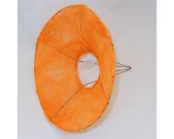 Каркас для букета (сизаль) гладкий 25см оранжевый
