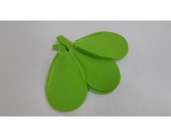 Каркас для букета Цветок (войлок) 30см зеленое яблоко