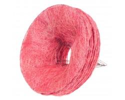 Каркас для букета (сизаль) гладкий 25см розовый