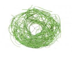 Каркас для букета из ротанга 25см зеленый