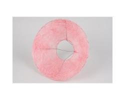 Каркас для букета (сизаль) гладкий 25см светло-розовый
