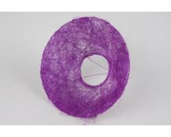 Каркас для букета (сизаль) гладкий 25см фиолетовый