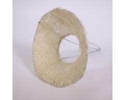 Каркас для букета (сизаль) 25см кремовый