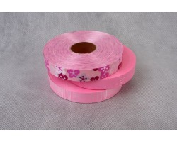 Лента п/п 2см*100м PL розовая