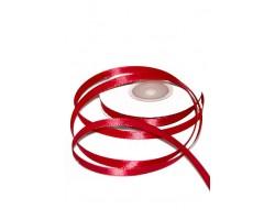 Лента атлас-сатин 06/20 0,6см*20м кроваво-красный