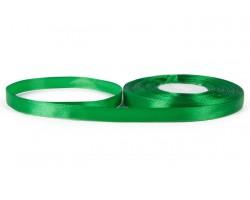 Лента атласная 10мм*30м зеленая