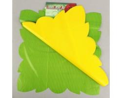Салфетка CartaPack G2 Полоска (упак.50шт) салатовый+желтый