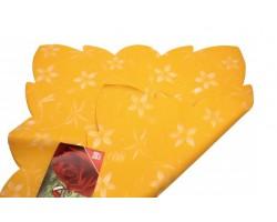 Салфетка CartaPack M1 Ботаника (упак.50шт) желтый