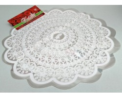 Салфетка D60cm Флориссима белый