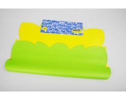 Салфетка Эко 2-х цветная (упак.50шт) салатовый+желтый