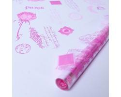 Пленка Jardin 70см розовый+малиновый