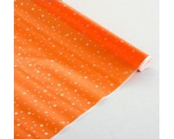 Пленка CartaPack Горошек 70см оранжевый