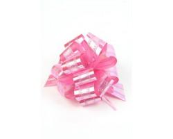 Бант шар 326-20 32мм двойной перламутр розовый шт.