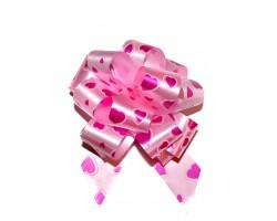 Бант шар 322/09-61 32мм сердца ярко-розовые шт.