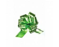 Бант шар 323/01-54 32мм с золотой полосой светло-зеленый шт.