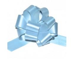 Бант шар 321/50 32мм однотонный голубой шт.