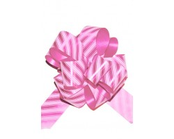 Бант шар 322/10-61 32мм линии розовые шт.