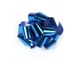 Бант шар 324/55 32мм металл синий шт.