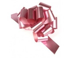 Бант шар 324/20 32мм металл розовый шт.