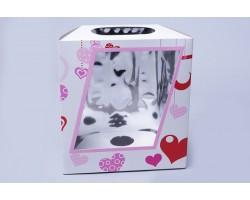 Коробка для орхидей (без пробирки) белый арт.81151