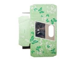 Коробка для орхидей с пробиркой Butterfly зеленый